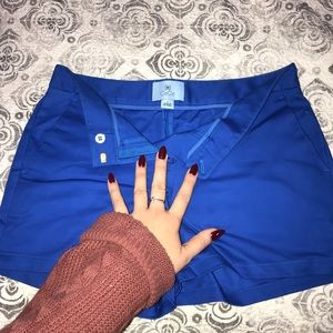 CeCe royal blue shorts in size 2